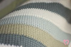 Scrappy Tunisian Crochet Blanket | Chopped Tomatoes