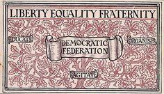 William Morris Union Membership Card