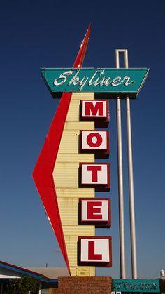 Skyliner Motel - Route 66