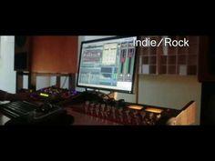 Indie Rock. Audio Sample. Red Mastering Studio