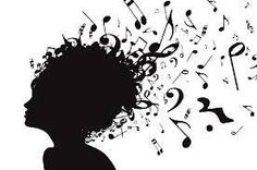 Notes, rythym, and songs constantly floating around your head. #piano #art #music