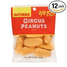 circus peanuts My grandma thought I loved these. I didn't want to hurt her feelings by telling the truth. Gourmet Recipes, Snack Recipes, Snacks, Old School Candy, Circus Peanuts, Peanut Candy, Grandmothers Love, Florida Oranges, Orange Soda