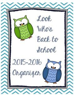 Hello teacher friends! Need to get organized for the upcoming year? My organizer on TPT has over 90 pages of material including a full calendar, meet the teacher page, all about me student pages, schedules, a grade book, planning pages, parent contact logs and more!