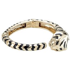 Roberto Cavalli Embellished Bracelet (1.210 RON) ❤ liked on Polyvore featuring jewelry, bracelets, gold, roberto cavalli jewelry, hinged bangle, star bangle, black gold jewellery and star jewelry