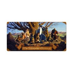 Lord of the Rings - The Fellowship Metal Sign