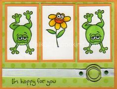 Hoppy for You! by chickers089 - Cards and Paper Crafts at Splitcoaststampers