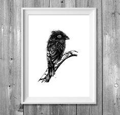 Illustrationen - Digitaldruck A4: Hey - ein Designerstück von pixelgraphix bei DaWanda