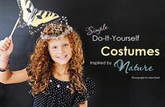 DIY Halloween Costumes inspired by nature
