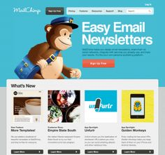 Mail chimp  - create easy email campaigns