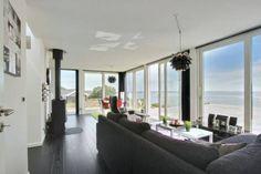 Große Panorama Meerblick Terrasse im Ferienhaus Dänemark