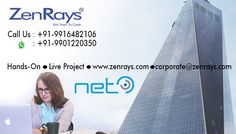 We are providing .Net Training in Bangalore by our team of expert faculties. Hands-On Training, Work On Live Project, Training By Experts, Placement Support  Powered By IItians Best Training in Bangalore.trainings@zenrays.com and 9916482106 for more information.