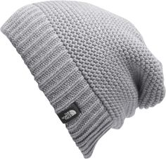 The North Face Women's Purrl Stitch Beanie is a cozy winter hat with effortless good looks. Earn up to back in Moosejaw Reward Dollars on every order. The North Face, North Face Hat, North Face Women, Knit Beanie Hat, Men's Beanies, Cute Hats, Diy Fashion, Fashion Hats, Fashion Women