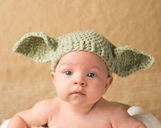 The baby Viking hat can be created in a size newborn, 0 - 3m. or 3m - 6 month for boys or girls. It makes an adorable hat for photos and is