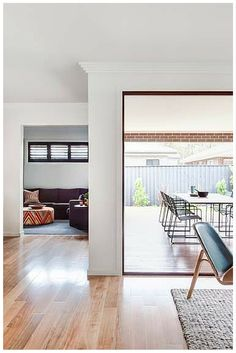 A Wideline Natura Bi Fold Door Opens Up The Living Areas In This Champion Home