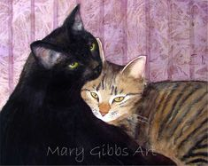 Mousse And Truffles | Mary Gibbs Art - watercolour