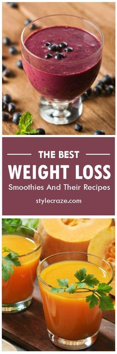 Top 10 Weight Loss Smoothie Recipes #weightloss #smoothies #recipes