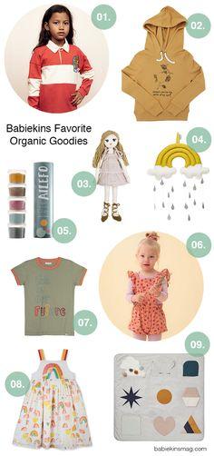 Babiekins Favorite Organic Goodies for Kids | Babiekins Magazine