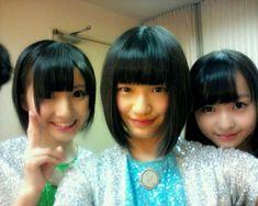 乃木坂46 (nogizaka46) inoue sayuri, perfect nakada kana and ito marika =) ♥ ♥ ♥ ♥