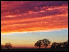 Last #mayweather #sunset #northoxfordshire