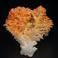 Mimetite on Cerussite