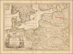 Карты Европы, 350 лет назад