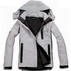 North Face Windstopper Jacket Grey-Womens