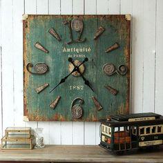 antique wall clock model original design