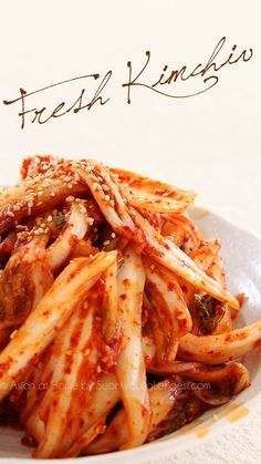 Instant Kimchi Recipe : Geot-Jeori : Korean Fresh Kimchi - Asian at Home