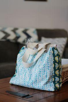 DIY Sewing Tutorial - Backyard Garden Bag