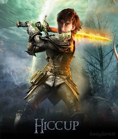 Hiccup as somebody from some film that I don't recognize. lol XD