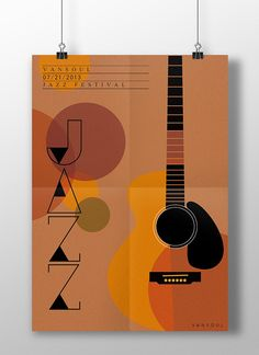 Vansoul Jazz Festival on Behance Event Poster Design, Typography Poster Design, Poster Design Inspiration, Graphic Design Posters, Elements Of Design Shape, Musikfestival Poster, Jazz Art, Hipster Art, Jazz Festival