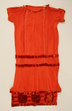 Afternoon Dress, House of Worth 1924, French, Made of silk