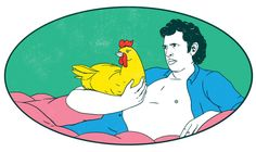The Evolution of Chickens - Lucky Peach