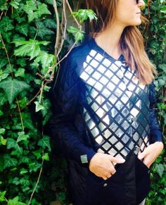 handmade mirror jacket