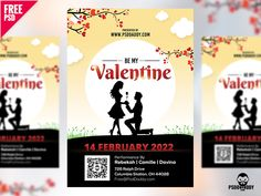 Valentines Day Flyer Free PSD:   Download Valentines Day Flyer Free PSD. Associate the most romantic day of the year with the events organised by you. Download Valentines Day Flyer Free PSD. It is perfect to promote your valentines day party dinner fashion shows and many other events. Show your best organising skills and organize amazing romantic dinner dates. Valentines Day Flyer Free PSD is designed in a way to attract couples to celebrate their special day at your place. Valentines Day…