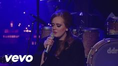"""Someone Like You (Live on Letterman)"" ~ Adele"