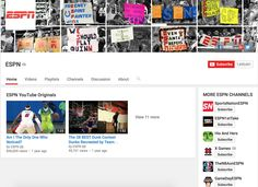 YouTube ESPN