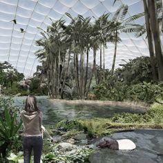 Riesentropenhalle Gondwanaland Zoo Leipzig eu-weiter Wettbewerb