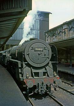 70011, Hotspur, Britannia class locomotive @ Carlisle June 67
