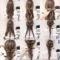 Easy Braids For Long Hair Ideas quick and easy braid hair tutorial hair long hair braids Easy Braids For Long Hair. Here is Easy Braids For Long Hair Ideas for you. Easy Braids For Long Hair 31 cute and easy braids for back to school. Wedding Hairstyles Tutorial, Braided Hairstyles Tutorials, Cool Hairstyles, Braid Tutorials, Hairstyles Pictures, Hairstyle Ideas, Hairstyle Braid, Easy Hairstyles For Work, Braided Hairstyles For Long Hair