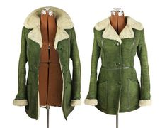 Vintage Sheepskin Coat Made in Poland Mountaineering Shearling ...