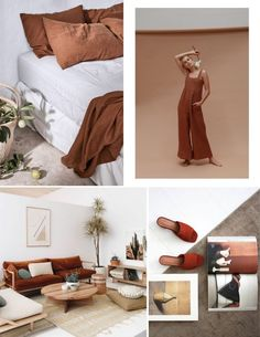 Rust Color Trend and How to Use It in Interiors - made with SampleBoard software Best Interior Design, Bathroom Interior Design, Rust Color Schemes, Orange Color Palettes, Living Room Orange, Orange House, Brown Interior, Bedroom Red, Colorful Furniture