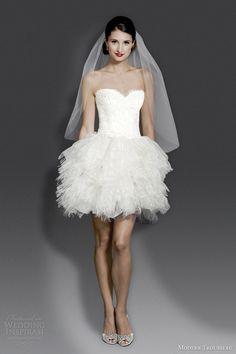 Modern Trousseau Fall 2014 Wedding Dresses | Wedding Inspirasi