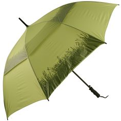 Green Grass Ladies Golf Umbrella - Brolliesgalore