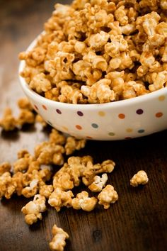 Grandma Paul's Caramel Corn - OMG, OMG! This stuff is great! I have made flavored popcorns before and it was always too heavy, etc. This is just right. Tastes just like (but better) the good caramel corn you buy.