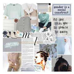 """""""does it burn when i'm not there? ❤"""" by sadtrashqueen ❤ liked on Polyvore featuring American Eagle Outfitters, Whiteley, W118 by Walter Baker, Topshop, Acne Studios, Clips, Luli, DK, Sheridan and philosophy"""