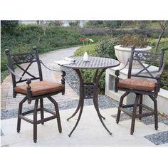 Bar Stools Garden //ift.tt/2PbbS13 Bar Height Patio Set  sc 1 st  Pinterest & 41 Best Bar Height Patio Sets images | Bar height patio set Patio ...