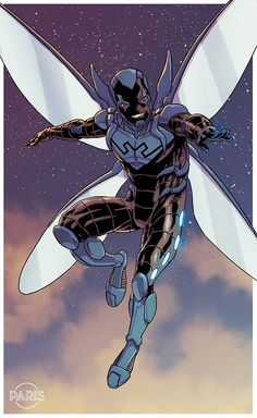 Blue Beetle - Paris Alleyne