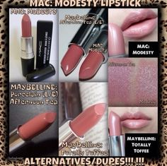 Mac dupes******** Keep in mind the QUALITY and Ingredients.. I too am all about a bargain, and I do buy the $1 bargains..Not ALL are bargains though ;)