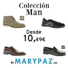 ¿ Has echa un vistazo a nuestra Colección de Man ?  ¡ Aprovéchate de nuestros PRODUCTOS CON DESCUENTO de  hasta el -65% en nuestra Online Store y tiendas físicas MARYPAZ !  Disponibles del 1 al 31 de marzo ► http://www.marypaz.com/